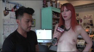 Naked News – Brandy Dawley Raid comics Interview. age restricted. how does youtube know my age?