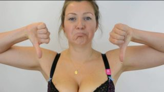 Bra fit: The 'Scoop and Swoop' technique (see thru)