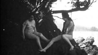"""""""Is Your Daughter Safe?"""" 100 year old stag film with full-frontal nudity throughout."""